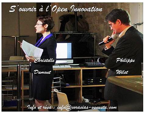Coracias-Venusta et DAFEO vous propose un débat enrichissant sur l'Open Innovation : confronter vos idées, collaborer avec vos salariés, clients, concurrents, …