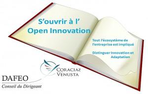Proposition de conférence par Coracias-Venusta et Dafeo - S'ouvrir à l'Open Innovation